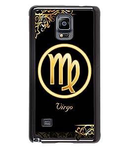 Printvisa 2D Printed Sunsign Virgo Designer back case cover for Samsung GalaxySamsung Galaxy Note4 N/910F/N910H - D4326