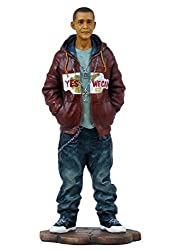 8.25 Inch Hip Hop Obama African American With Hand In Pocket Figure
