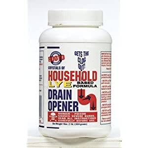 Rooto Corp. 1030 1 Lb. Drain Cleaner With Lye