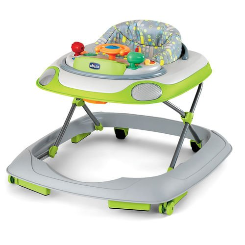 Chicco Lil Driver Walker Activity Center, Silver