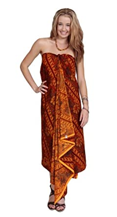 1 World Sarongs Womens Traditional Indonesian Batik Sarong / Assorted Styles