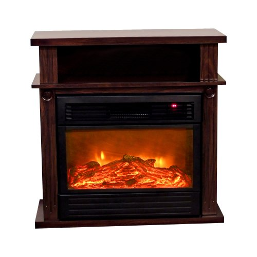 Yosemite Home Decor DF-MP32 32-Inch Manchester Electric Fireplace with Faux Wood Logs image B009YTU53U.jpg