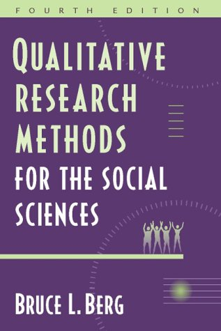 Qualitative Research Methods for the Social Sciences, 4th Edition