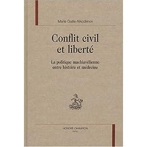 Conflit civil et liberté