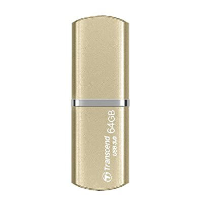 Transcend JetFlash 820 64GB USB 3.0 Pen Drive, Gold (TS64GJF820G)