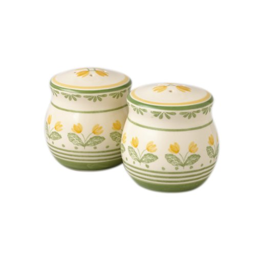 Buy Pfaltzgraff Circle of Kindness Yellow Flowers Salt and Pepper Set