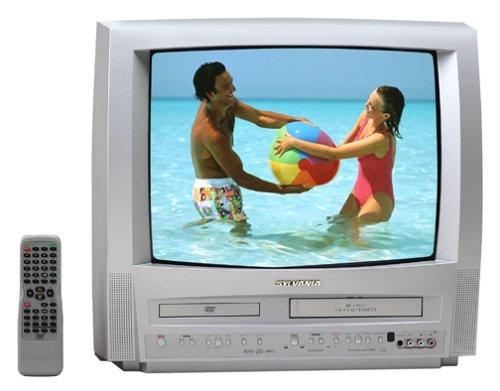 Sylvania 6719DD 19-Inch TV/VCR/DVD Triple Combo