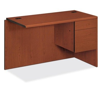 Right Desk Return, Box/File, Henna Cherry