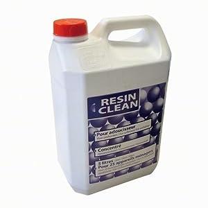 Nettoyant résine adoucisseur désinfectant Resin Clean 5 L