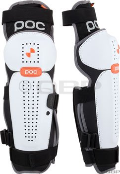 POC Bone VPD Protective Leg Guard: White/Black; LG
