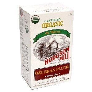 Amazon.com : Hodgson Certified Organic Oat Bran Flour 26
