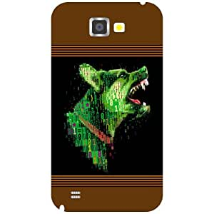 Samsung Galaxy Note 2 N7100 Back cover - Colorful Designer cases