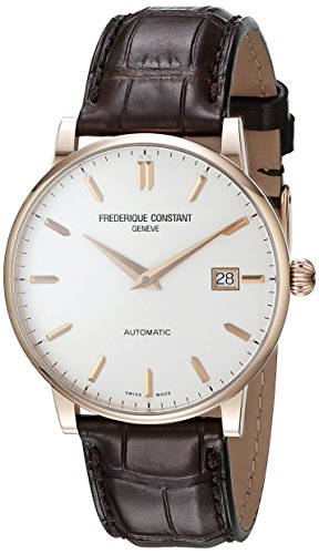 Frederique-Constant-Mens-FC316V5B9-Slim-Line-Swiss-Automatic-Watch-With-Brown-Leather-Band