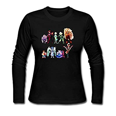 Bamwind Women Steven Universe T-Shirt Custom O Neck