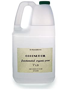 Fractionated Coconut Oil 7 Lb/ One Gallon