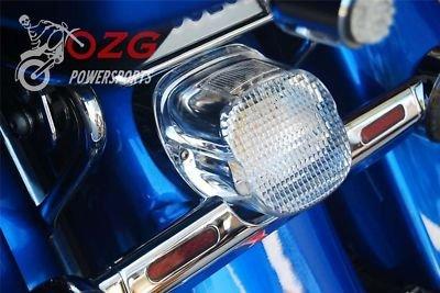 ozg-motors Clear Lens Tail Brake Led Light Harley Davidson Motorcycle Stop Lamp at Sears.com