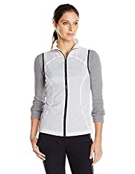 Cutter & Buck Women's CB Weather Tec Clarion Vest, White, X-Large
