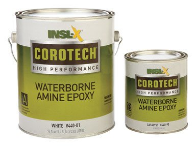 Insl X Coatings V440 01 1K Corotech Waterborne Amine Epoxy Kit White