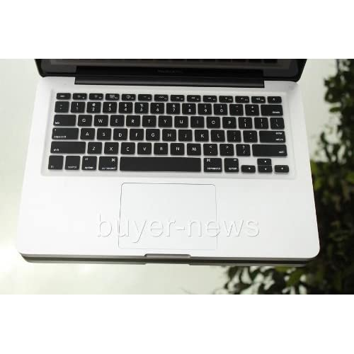 BLACK Silicone Keyboard Cover for Macbook White 13