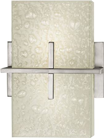 Stratus Two Light Wall Sconce in Satin Nickel