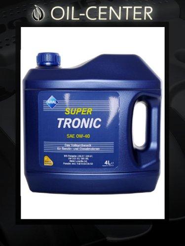 Aral Super Tronic 0W40 0W-40 Motoröl 4 Liter