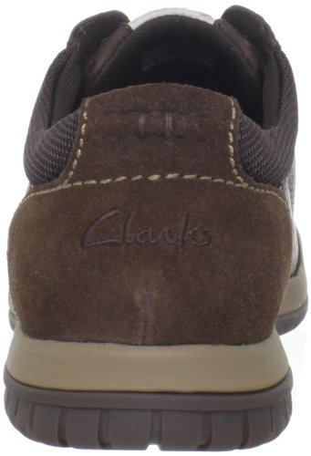 Clarks Men's Rhombus Euro Fashion Sneaker,Brown,10.5 M US