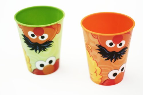 Evriholder Set of 2 Sesame Street Fun Mealz Cups - Big Bird, Pack of 1 - 1