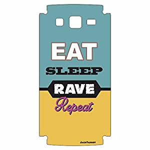 Jack Parrot Mobile Skin Rave 088 for Samsung Galaxy Grand-2 - G7102
