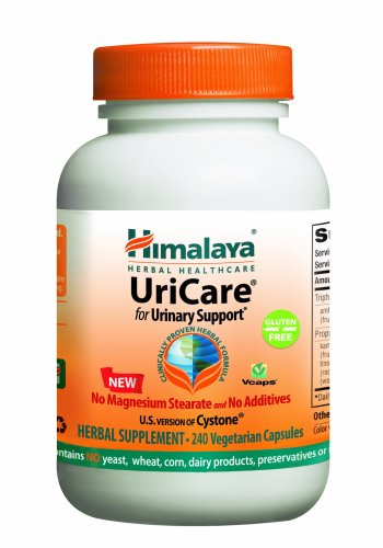 Himalaya Herbal Healthcare UriCare/Cystone, Urinary Comfort, 240 Vcaps, 840mg