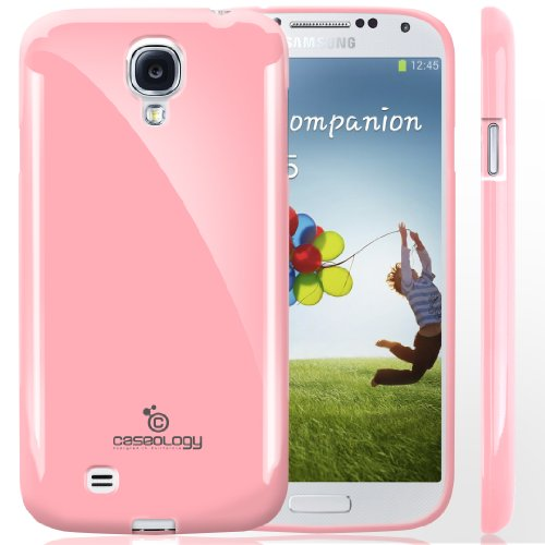 Galaxy S4 Case, Caseology [Drop Protection] Samsung Galaxy S4 Case [Pink] Slim Fit Tpu Cover [Shock Absorbent] Armor Bumper Galaxy S4 Case (For Samsung Galaxy S4 Verizon, At&T Sprint, T-Mobile, Unlocked) front-548200
