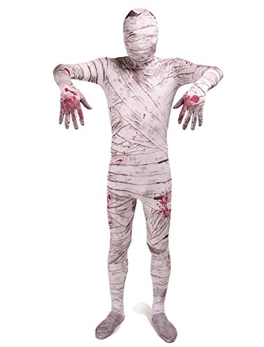 Treasure-box Egyptian Mummy Lycra Halloween One Piece Suit Costumes