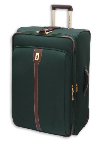 London Fog Oxford II 28 Inch Upright Suiter, Green, One Size best buy