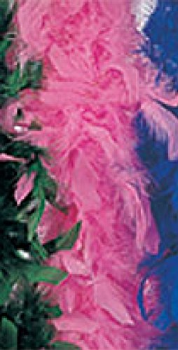 Rubie's Costume Co 6Ft Turkey Feather Boa-HotPink Costume