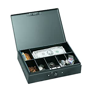 Amazon.com : MMF Industries Low Profile Steel Cash Box