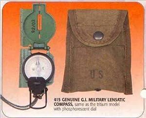 U.S. Gov't Military Lensatic Compass