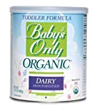 Babys Only Organic Dairy Based Toddler Formula, 12.7 oz - Pack of 6