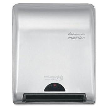 ... Dispenser, Elegant Stainless Steel Recessed Towel Dispenser (EA