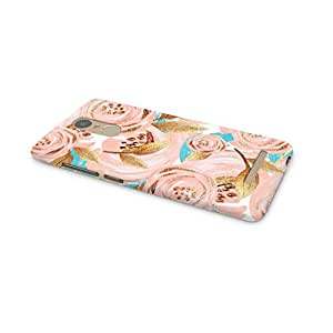 Cover Affair Floral / Flowers Printed Back Cover Case for Xiaomi Redmi Note 3