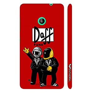 Nokia Lumia 530 Daff Punk Red designer mobile hard shell case by Enthopia