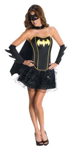 Secret Wishes DC Comics Batgirl Corset And Tutu Costume, XS, S, M, L