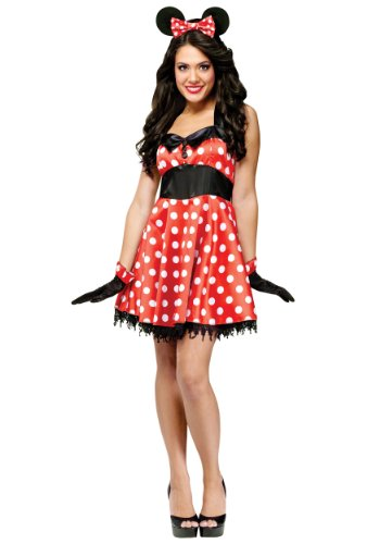 Fun World Women's Retro Miss Mouse Costume