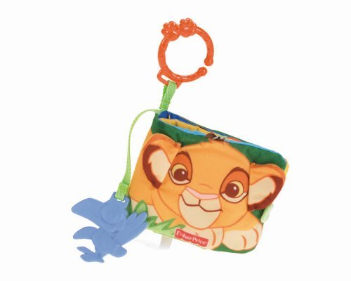 Fisher-Price Disney Lion King Soft Book Toy, Kids, Play, Children front-10160