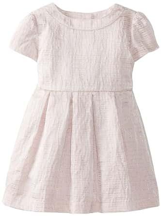 Bardot Junior Baby Girls' Metallic Party Dress, Pink, 9 12 Months