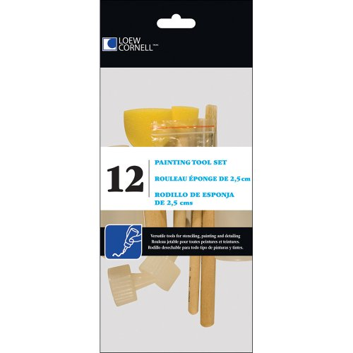 Loew-Cornell Painting Tool Set, 12-Count
