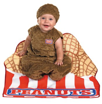 Costumes For All Occasions Dg50276I Little Peanut Bunting 6Mos. front-959195