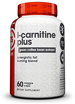 Top Secret Nutrition L-Carnitine Plus Capsules, Green Coffee