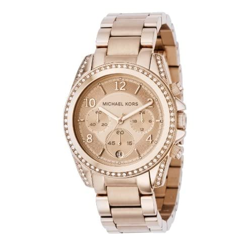 Michael Kors Mk5263 Ladies Watch with Rose Gold Bracelet andRose Gold Dial