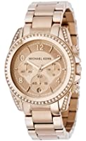 MK5263 Ladies Rose Gold Plated Michael Kors Watch