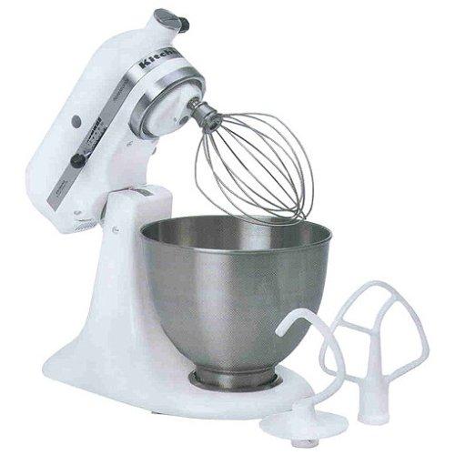 Neu Für Kitchenaid 5K45SSEWH Küchenmaschine Weiß | Bester Online ...