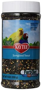 Kaytee Pet Products BKT100502991 Forti-Diet Pro Health Songbird Canary and Finch Treat, 9-Ounce